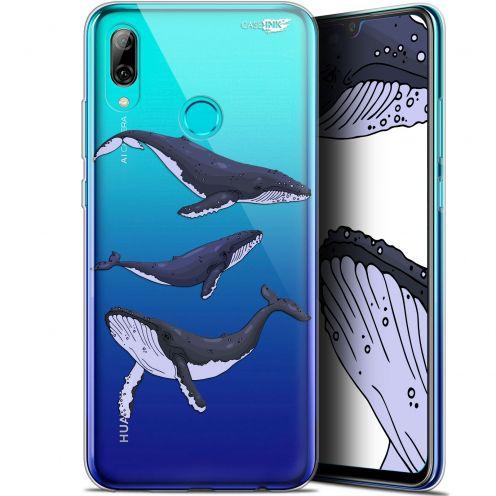 "Carcasa Crystal Gel Extra Fina Huawei P Smart 2019 (6.21"") Design Les 3 Baleines"