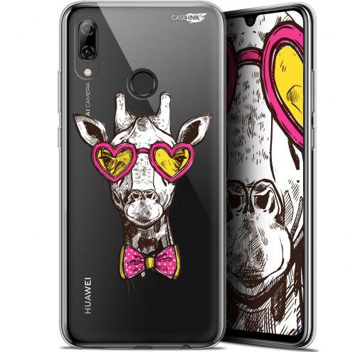 "Carcasa Crystal Gel Extra Fina Huawei P Smart 2019 (6.21"") Design Hipster Giraffe"