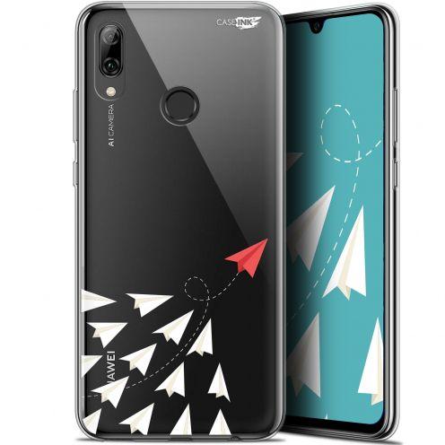 "Carcasa Crystal Gel Extra Fina Huawei P Smart 2019 (6.21"") Design Papier Volant"