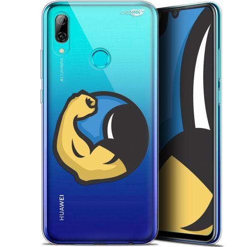 "Carcasa Crystal Gel Extra Fina Huawei P Smart 2019 (6.21"") Design Monsieur Muscle"