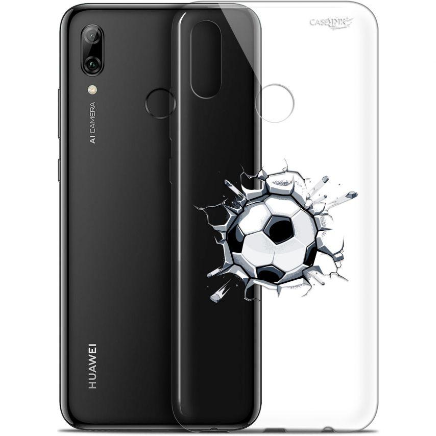 "Carcasa Crystal Gel Extra Fina Huawei P Smart 2019 (6.21"") Design Le Balon de Foot"