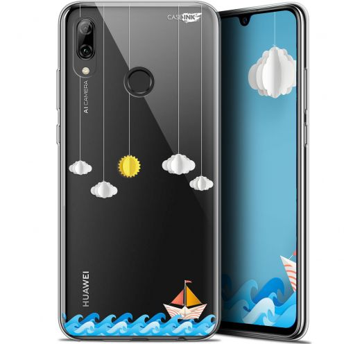 "Carcasa Crystal Gel Extra Fina Huawei P Smart 2019 (6.21"") Design Petit Bateau en Mer"