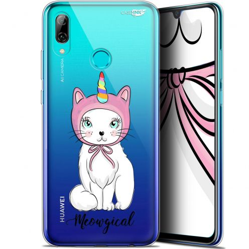 "Carcasa Crystal Gel Extra Fina Huawei P Smart 2019 (6.21"") Design Ce Chat Est MEOUgical"