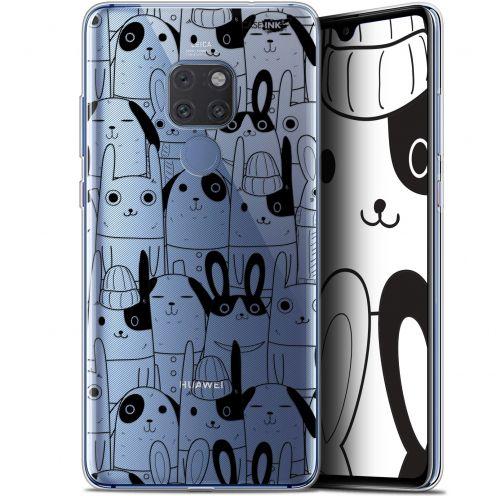 """Carcasa Crystal Gel Extra Fina Huawei Mate 20 (6.5"""") Design Lapin Noir"""