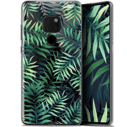 "Carcasa Crystal Gel Extra Fina Huawei Mate 20 (6.5"") Design Feuilles des Tropiques"