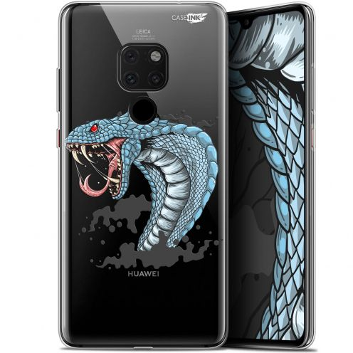 "Carcasa Crystal Gel Extra Fina Huawei Mate 20 (6.5"") Design Cobra Draw"