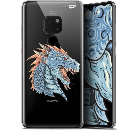 "Carcasa Crystal Gel Extra Fina Huawei Mate 20 (6.5"") Design Dragon Draw"