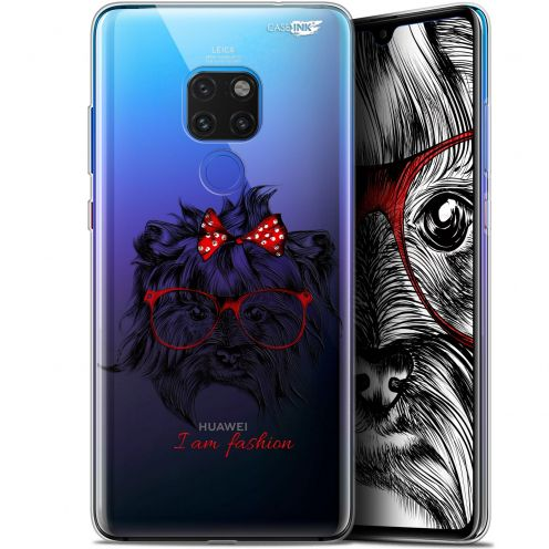 "Carcasa Crystal Gel Extra Fina Huawei Mate 20 (6.5"") Design Fashion Dog"