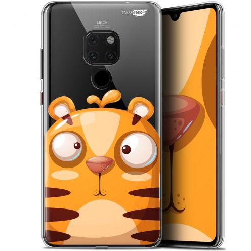 """Carcasa Crystal Gel Extra Fina Huawei Mate 20 (6.5"""") Design Cartoon Tiger"""