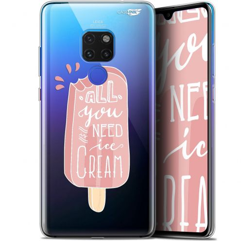 "Carcasa Crystal Gel Extra Fina Huawei Mate 20 (6.5"") Design Ice Cream"