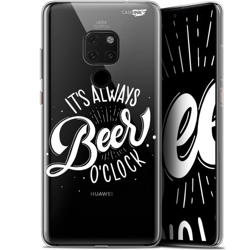 "Carcasa Crystal Gel Extra Fina Huawei Mate 20 (6.5"") Design Its Beer O'Clock"