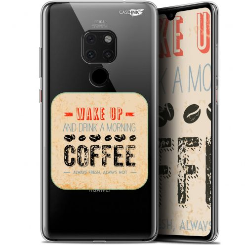 "Carcasa Crystal Gel Extra Fina Huawei Mate 20 (6.5"") Design Wake Up With Coffee"
