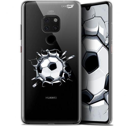 "Carcasa Crystal Gel Extra Fina Huawei Mate 20 (6.5"") Design Le Balon de Foot"