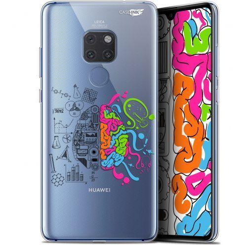 "Carcasa Crystal Gel Extra Fina Huawei Mate 20 (6.5"") Design Le Cerveau"
