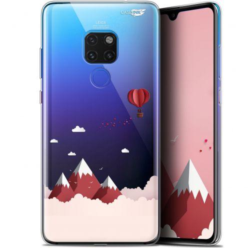 "Carcasa Crystal Gel Extra Fina Huawei Mate 20 (6.5"") Design Montagne En Montgolfière"