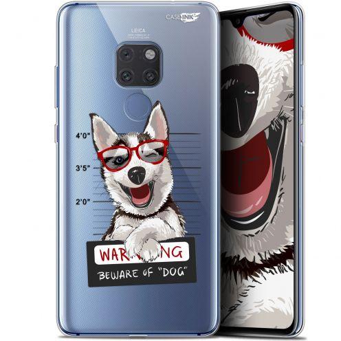"Carcasa Crystal Gel Extra Fina Huawei Mate 20 (6.5"") Design Beware The Husky Dog"
