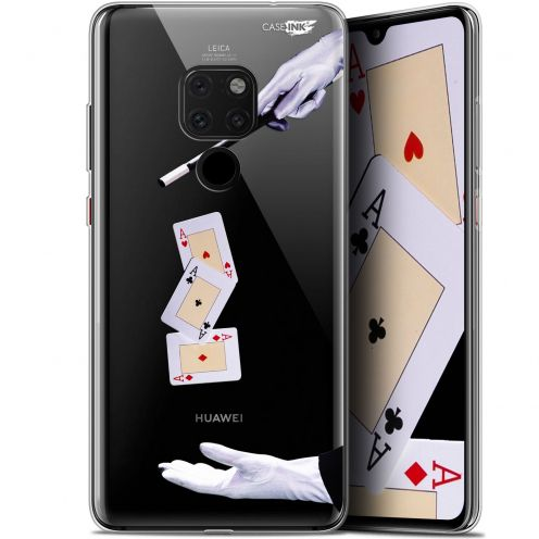 "Carcasa Crystal Gel Extra Fina Huawei Mate 20 (6.5"") Design Cartes Magiques"