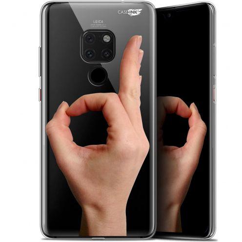"Carcasa Crystal Gel Extra Fina Huawei Mate 20 (6.5"") Design Le Jeu du Rond"