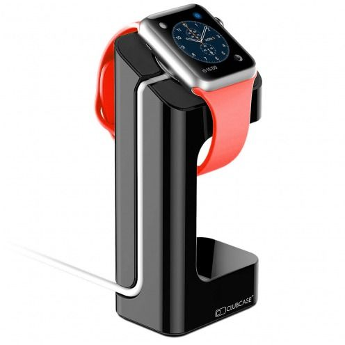 Soporte para Apple Watch 38-42 mm negro laquado
