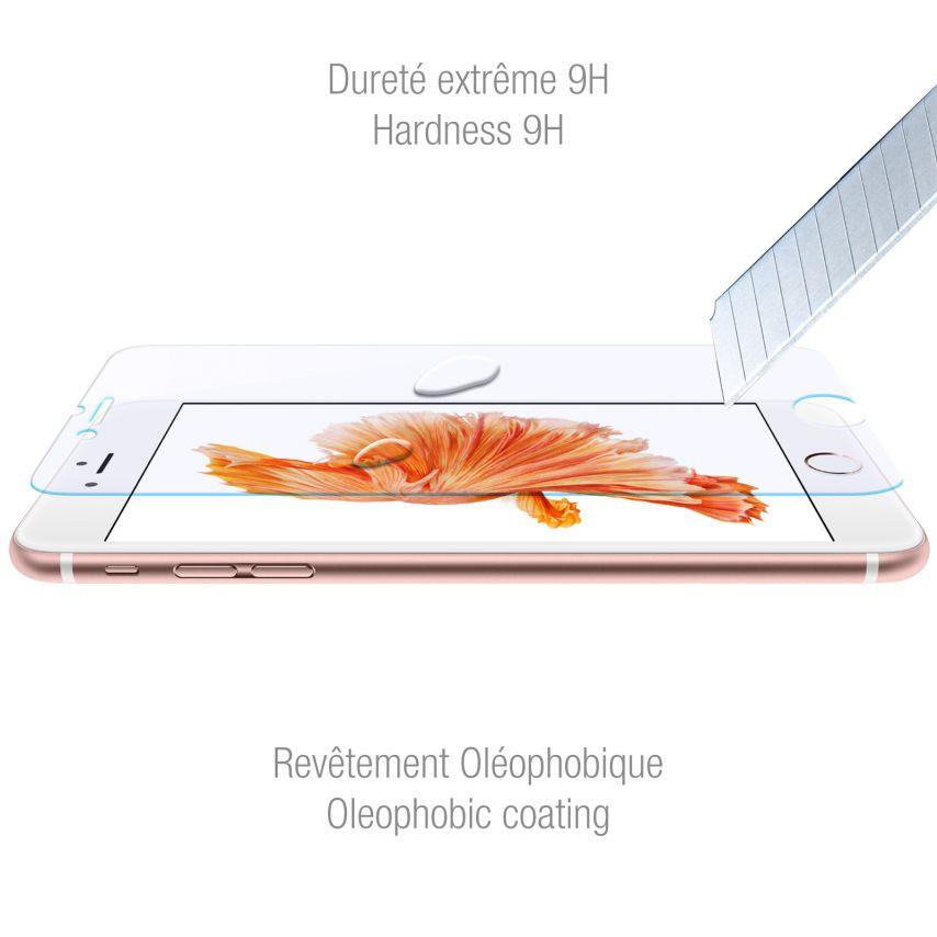 Protección de pantalla de vidrio templado Apple iPhone 6/6s Plus 5.5 Anti Blue Ray 9H Ultra HD 0.33mm