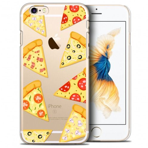Carcasa Crystal Extra Fina iPhone 6/6s Foodie Pizza