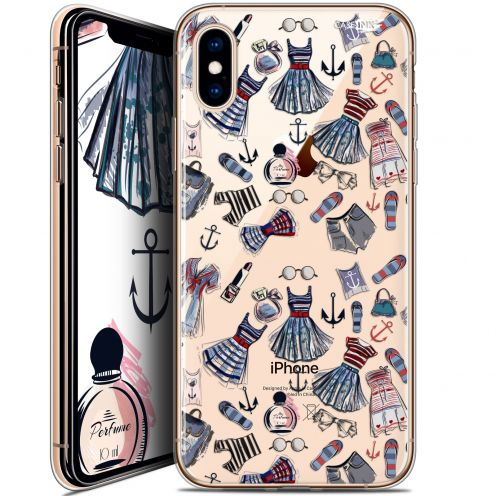 Carcasa Crystal Gel Extra Fina Apple iPhone X (10) Design Fashionista