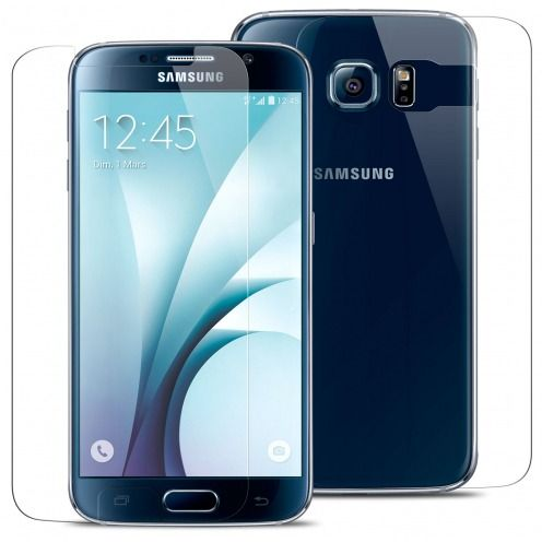 Protección de vidrio templado Delantera y trasera Samsung Galaxy S6 Glass Pro+ 9H Ultra HD 0.33mm