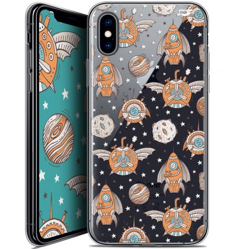 Carcasa Crystal Gel Extra Fina Apple iPhone X (10) Design Punk Space