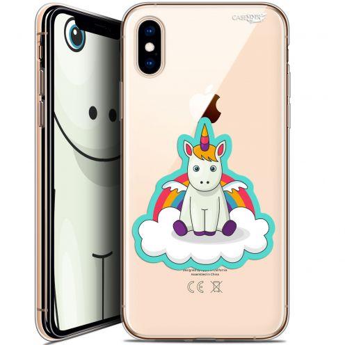 Carcasa Crystal Gel Extra Fina Apple iPhone X (10) Design Bébé Licorne