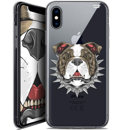 Carcasa Crystal Gel Extra Fina Apple iPhone X (10) Design Doggy