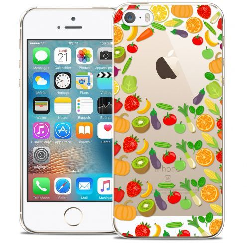 Carcasa Crystal Extra Fina iPhone 5/5s/SE Foodie Healthy