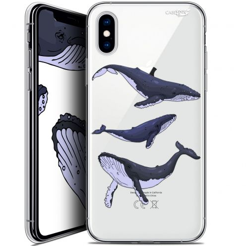 Carcasa Crystal Gel Extra Fina Apple iPhone X (10) Design Les 3 Baleines