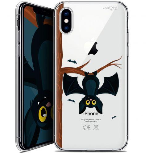 Carcasa Crystal Gel Extra Fina Apple iPhone X (10) Design Petite Chauve Souris