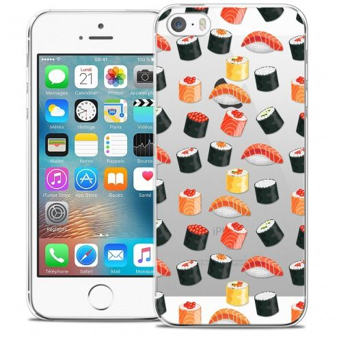 Carcasa Crystal Extra Fina iPhone 5/5s/SE Foodie Sushi