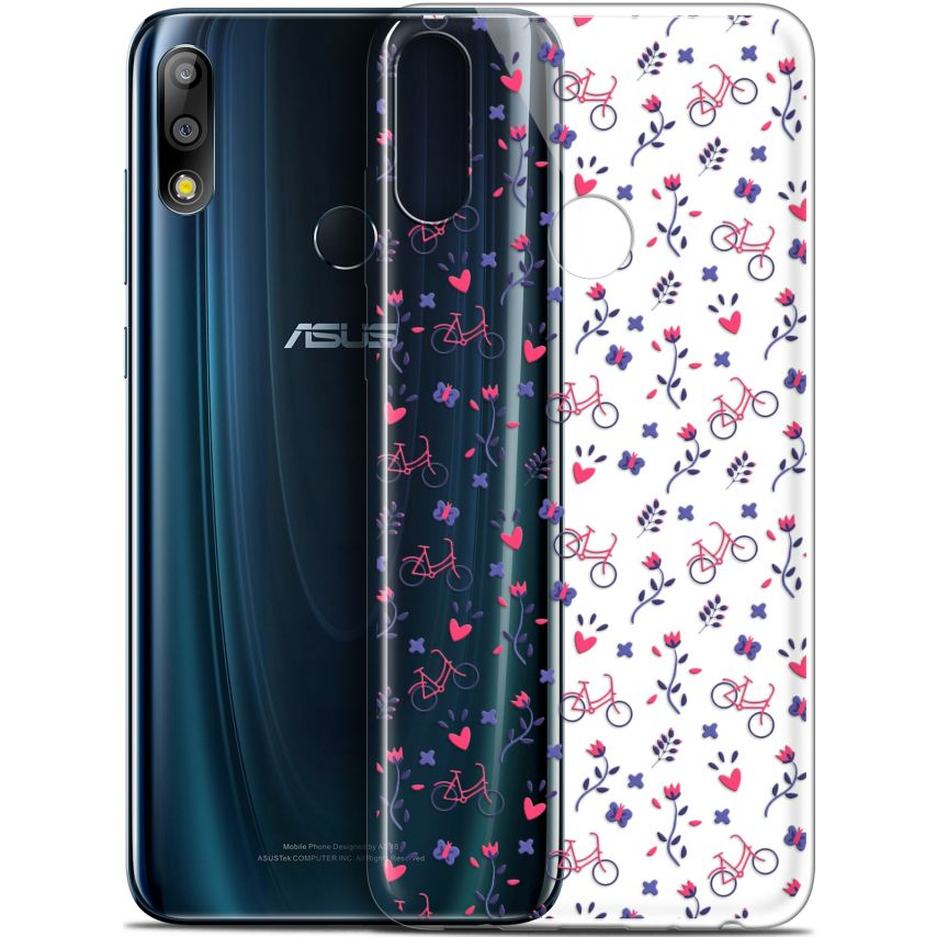 "Carcasa Gel Extra Fina Asus Zenfone Max Pro (M2) ZB631KL (6.26"") Love Bicycle"