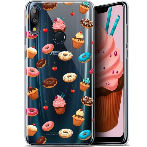 """Carcasa Gel Extra Fina Asus Zenfone Max Pro (M2) ZB631KL (6.26"""") Foodie Donuts"""