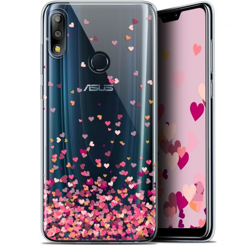 """Carcasa Gel Extra Fina Asus Zenfone Max Pro (M2) ZB631KL (6.26"""") Sweetie Heart Flakes"""