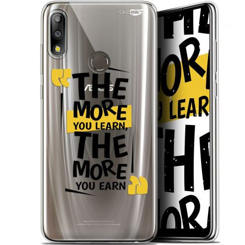 """Carcasa Gel Extra Fina Asus Zenfone Max Pro (M2) ZB631KL (6.26"""") Design The More You Learn"""
