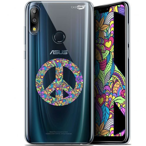 "Carcasa Gel Extra Fina Asus Zenfone Max Pro (M2) ZB631KL (6.26"") Design Peace And Love"