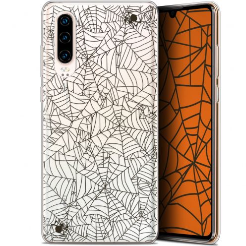 "Carcasa Gel Extra Fina Huawei P30 (6.1"") Halloween Spooky Spider"