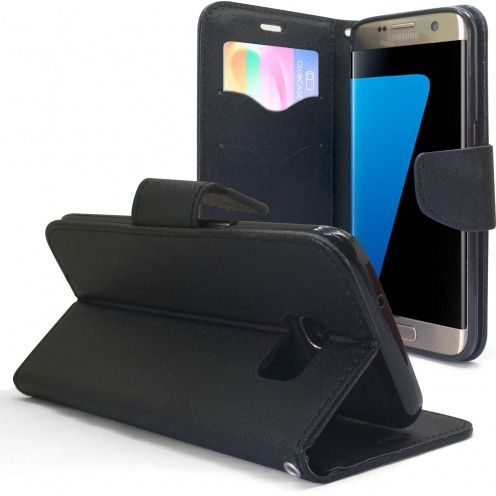 Funda FolioSlim Soft MagnetNegro para Samsung Galaxy S7 Edge