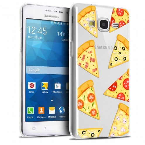 Carcasa Crystal Extra Fina Galaxy Grand Prime Foodie Pizza