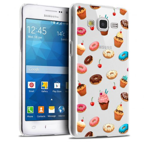 Carcasa Crystal Extra Fina Galaxy Grand Prime Foodie Donuts