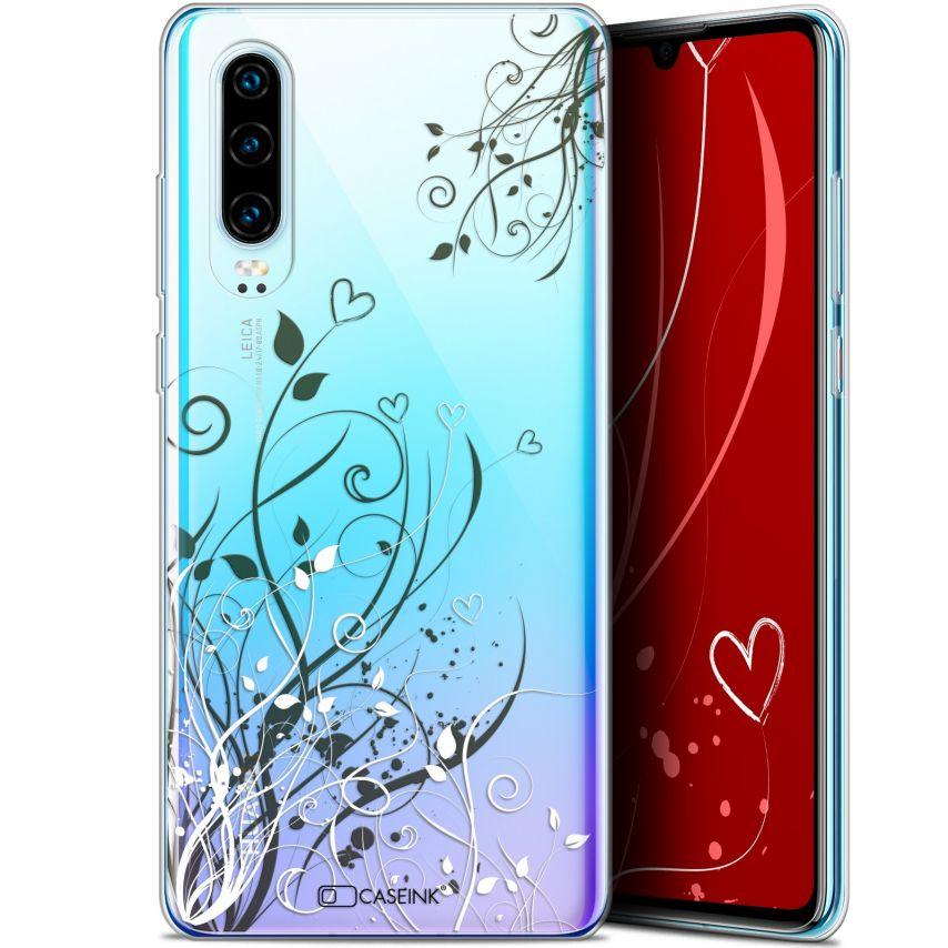 "Carcasa Gel Extra Fina Huawei P30 (6.1"") Love Hearts Flowers"