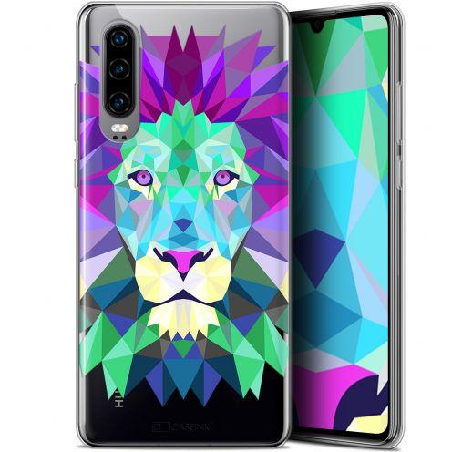 "Carcasa Gel Extra Fina Huawei P30 (6.1"") Polygon Animals León"