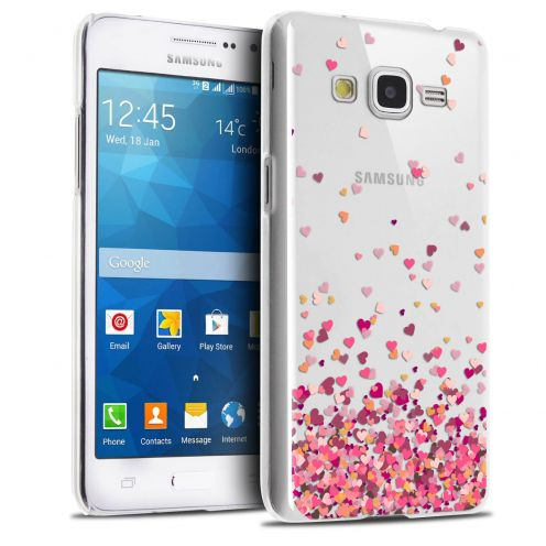 Carcasa Crystal Extra Fina Galaxy Grand Prime Sweetie Heart Flakes