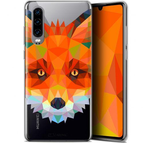 "Carcasa Gel Extra Fina Huawei P30 (6.1"") Polygon Animals Zorro"