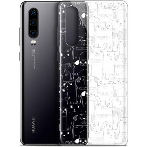 "Carcasa Gel Extra Fina Huawei P30 (6.1"") Design Chien Blanc"