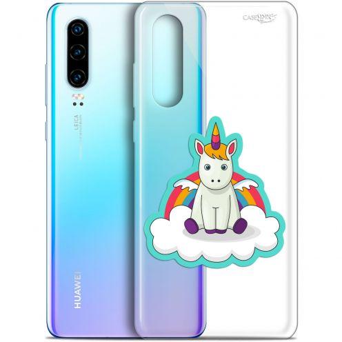 """Carcasa Gel Extra Fina Huawei P30 (6.1"""") Design Bébé Licorne"""