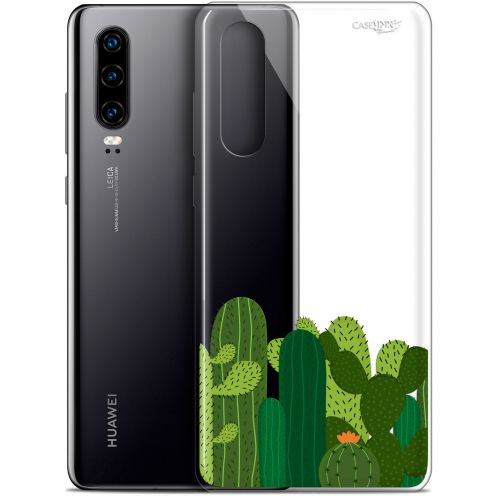 """Carcasa Gel Extra Fina Huawei P30 (6.1"""") Design Cactus"""